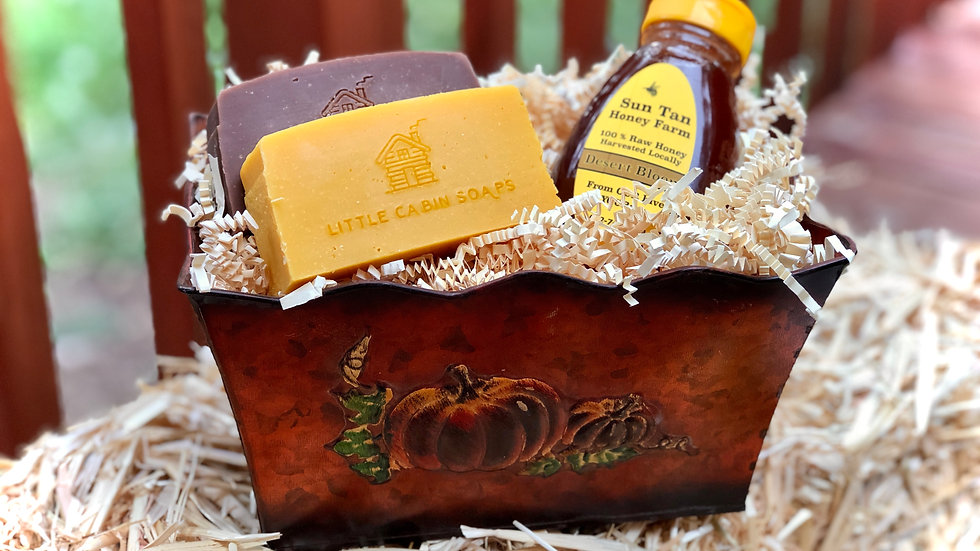 Pumpkin Honey Gift Basket