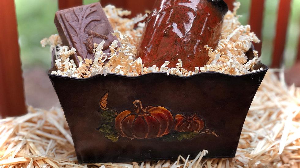 Pumpkin Gift Basket