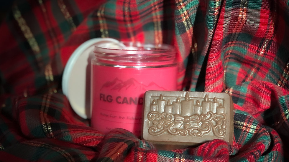 Candle & Soap Set ~ Home for the Holidays