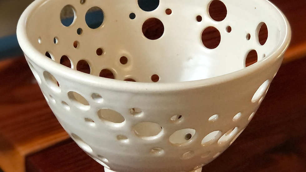 Holey Bowls ~ by West End Pottery