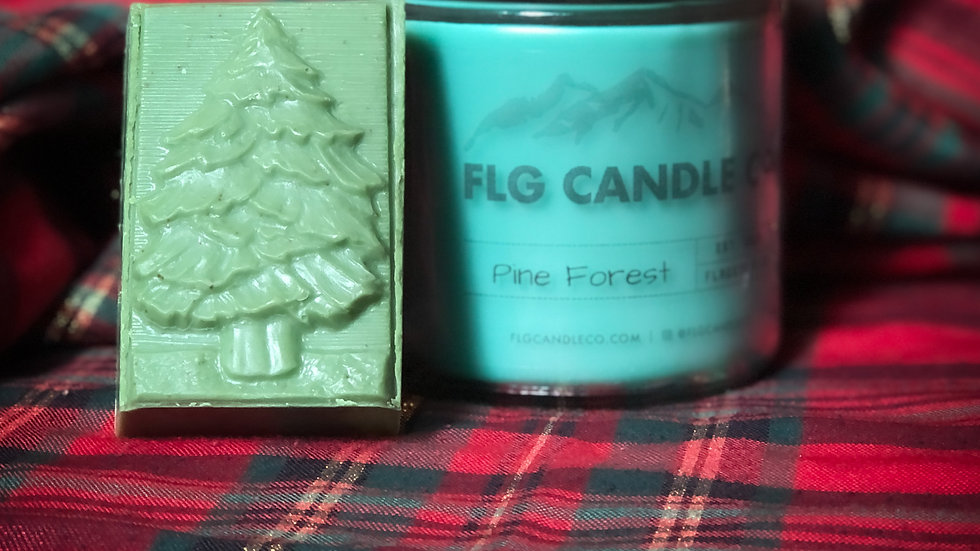 Candle & Soap Set ~ O' Christmas Tree