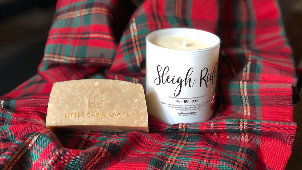 Candle & Soap Set ~ Sleigh Ride
