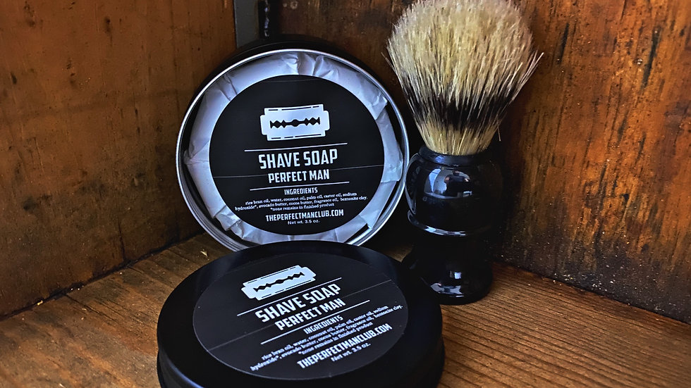 Men's Shave Soap Kit ~ by The Perfect Man Club