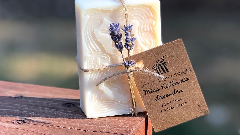 Miss Victoria's Lavender ~ Goat Milk Facial Bar