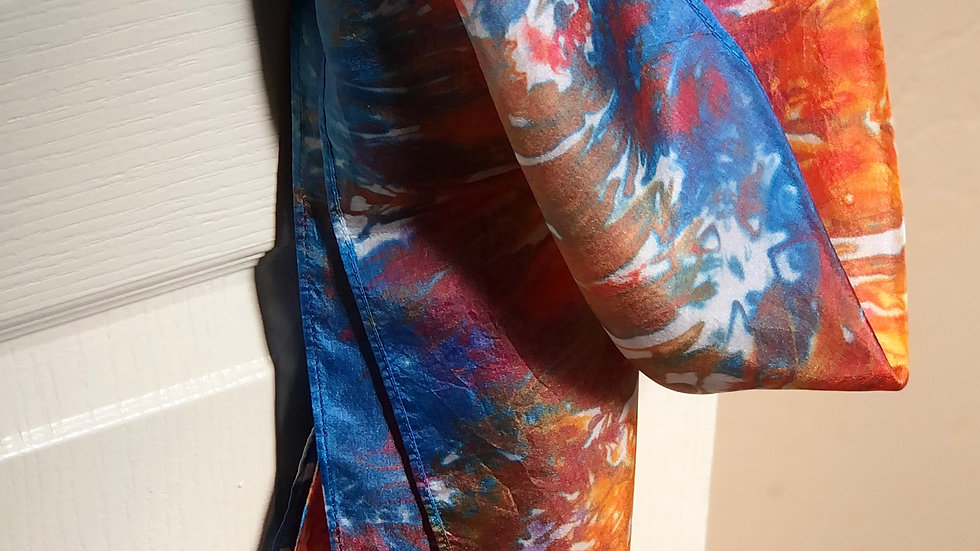 Hand Dyed Scarves ~ by Judy Sall Originals