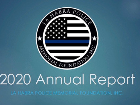 LHPMF, Inc. 2020 Annual Report