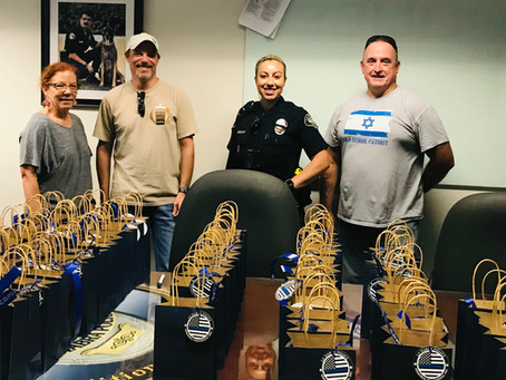 Police Week Gift Bag Delivery Day