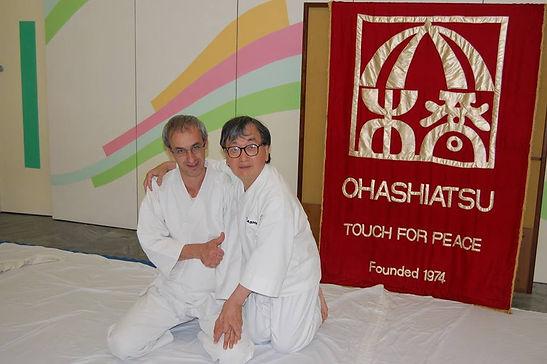 Avec Sensei Ohashi
