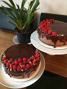 Special occasion chocolate mousse cake
