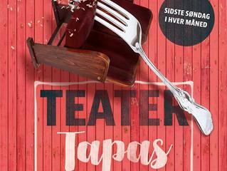 OPEN CALL - Skal dit værk vises til Teater Tapas på Teaterøen?