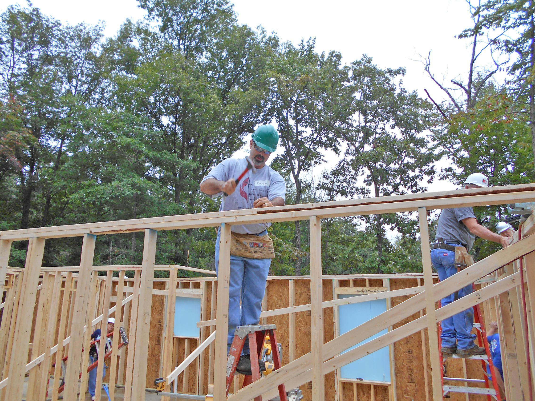 Volunteer at Habitat Build