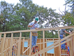 Volunteer at Habitat Build