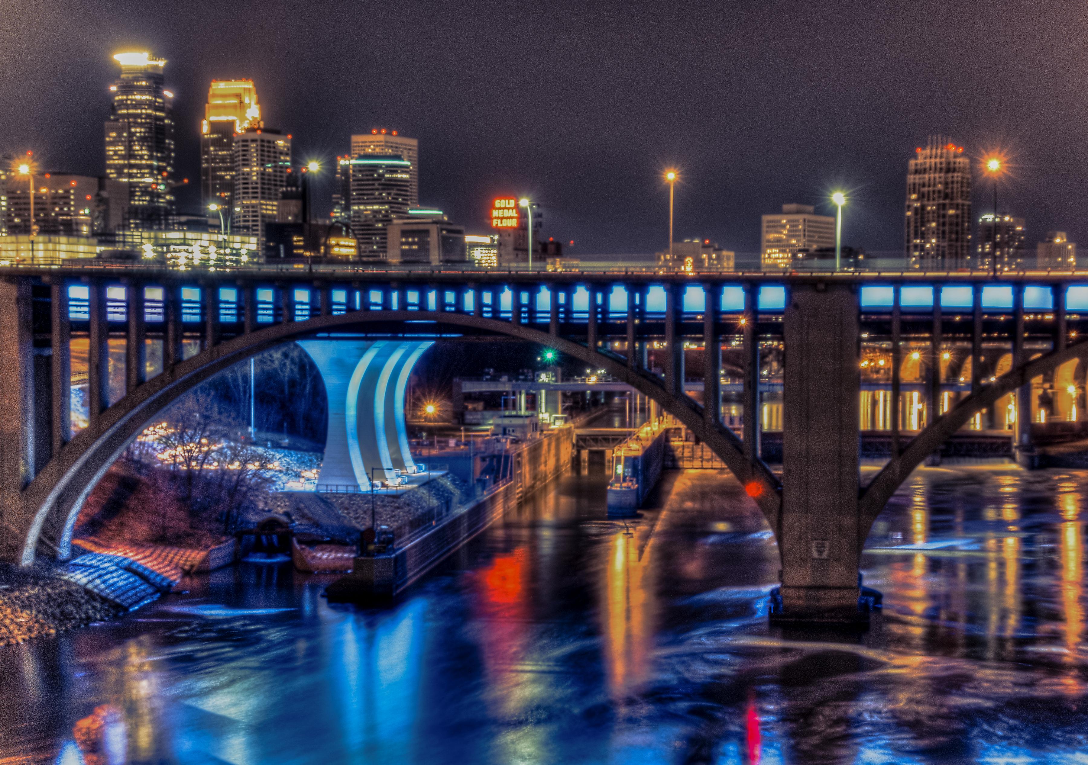 Night Blues in Minneapolis