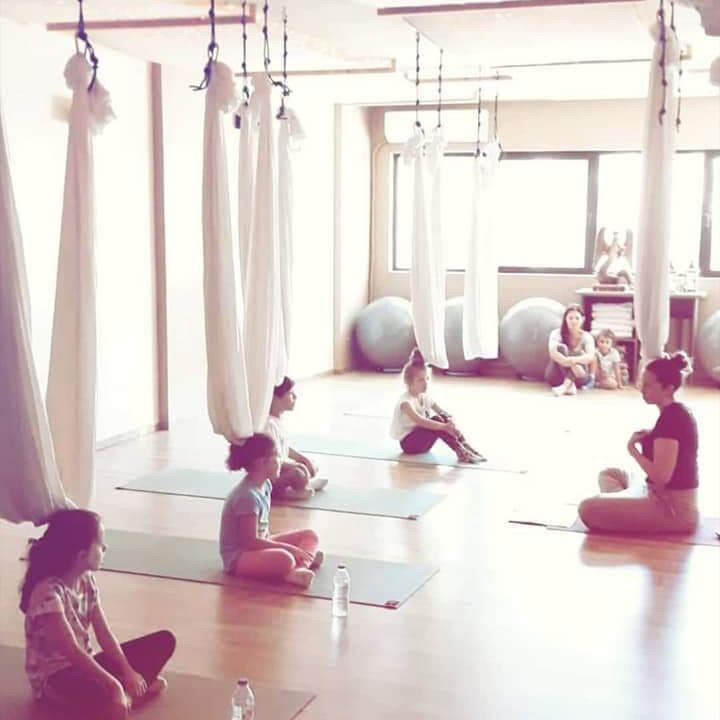 Aerial Kids Yoga
