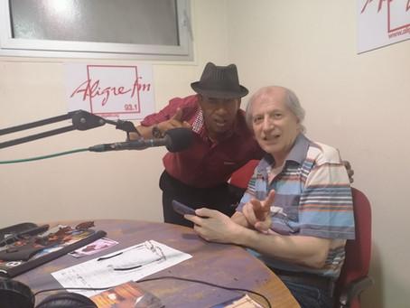 Paul SANDERS dans JAZZBOX INTERNATIONAL sur Radio Alligre 93.1 présenté par Jacques THEVENET