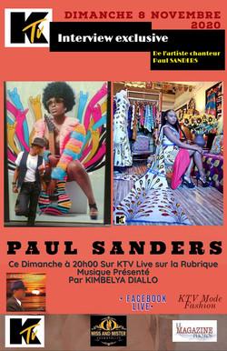 KTV LIVE PAUL SANDERS