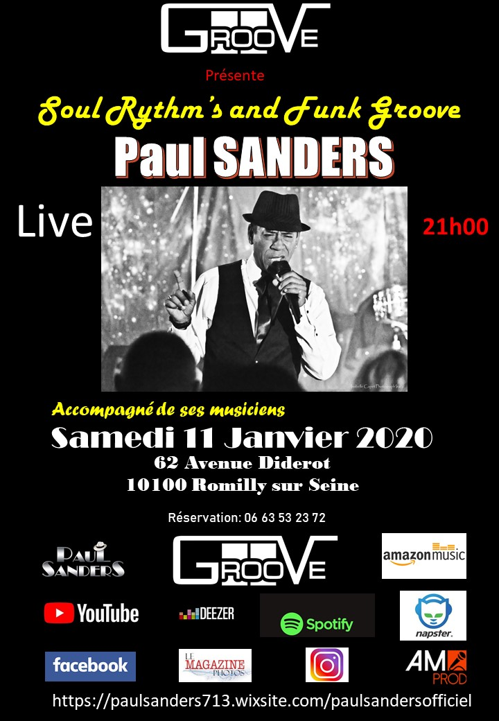 Affiche Groove 2020