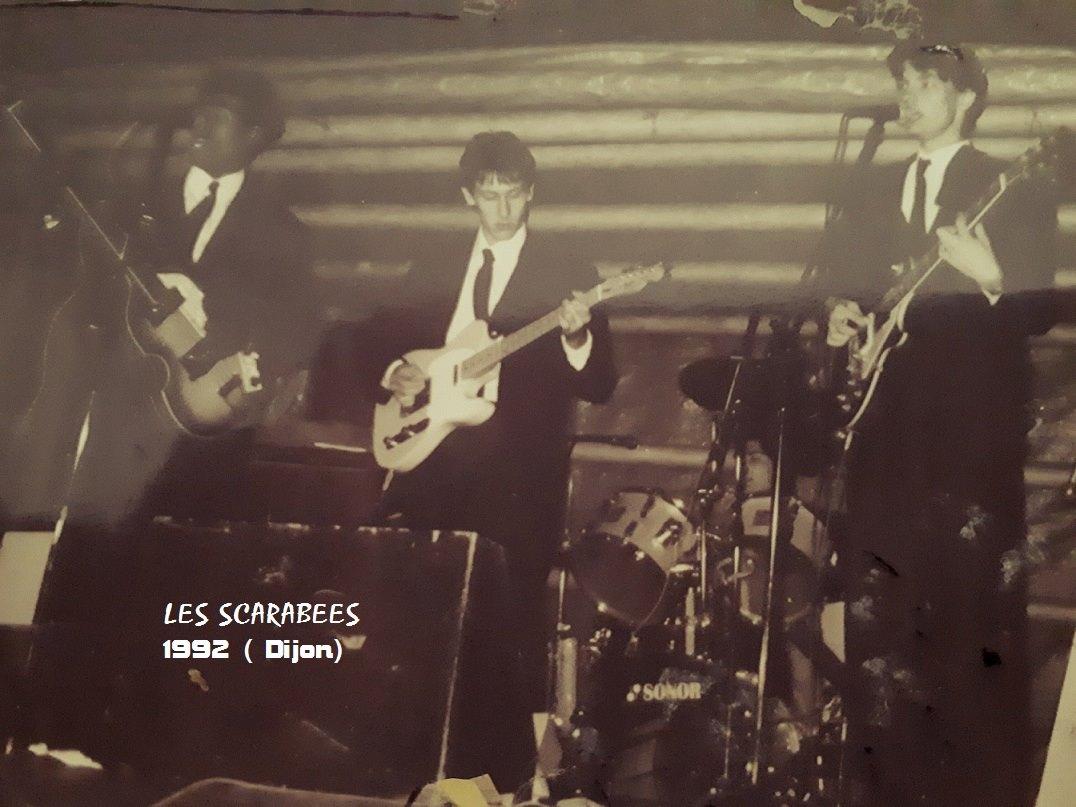 les Scarabées en concert à Dijon.1992.
