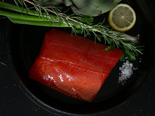 Sockeye Salmon Portions 22 LB. Case