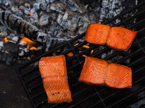 Sockeye Salmon Portions 22 LB. Case
