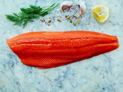 Sockeye Salmon Fillets 22 LB. Case