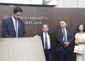 DAVI DE RAIMUNDÃO - PRESIDENTE DA ASSEMBLÉIA LEGISLATIVA DO CEARÁ TOMA CIÊNCIA.
