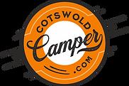 Cotswold Camper Logo In Orange