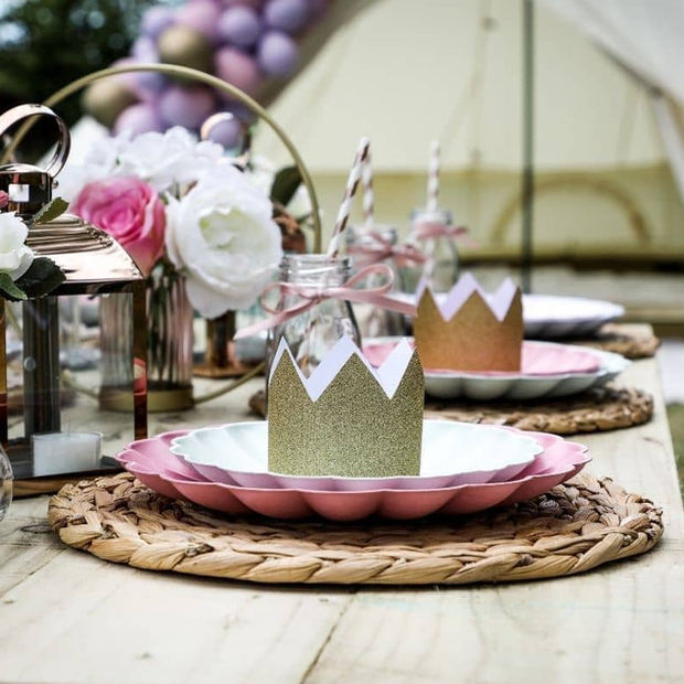 Picnic In Front Of Bell Tent.jpg