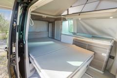 The Bed Inside A VW Camper California Ocean 6.0