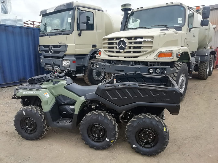 Used Can Am Outlander 650 6x6 DPS T