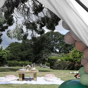 Looking Out Of A Bell Tent.jpg