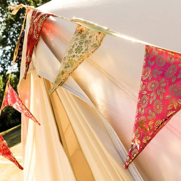 Bunting On Bell Tent.jpg