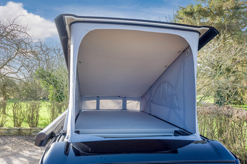 The Top Bunk In A VW Camper California Ocean 6.0