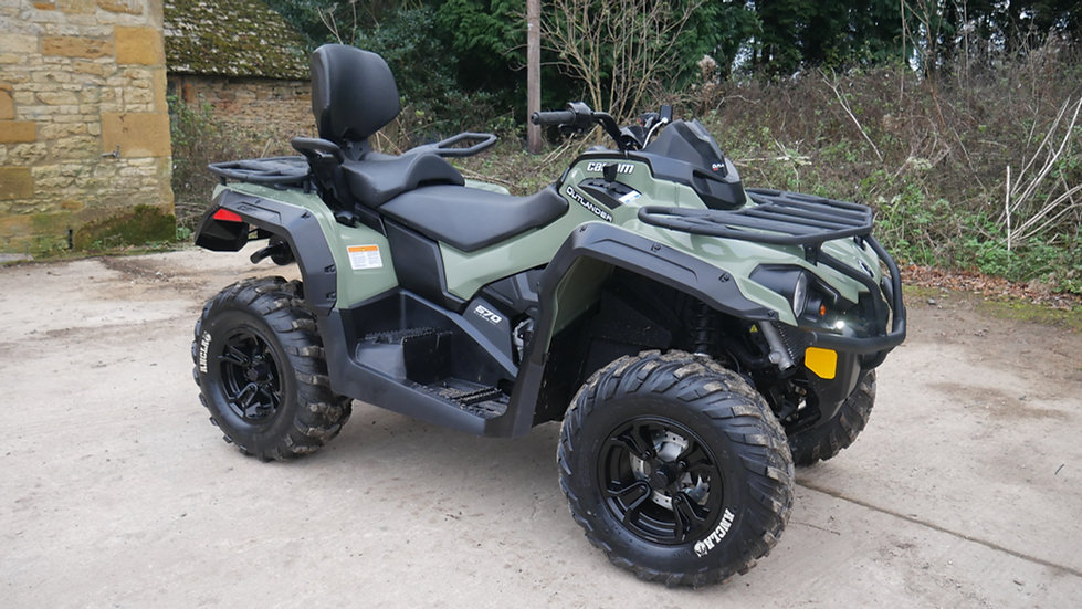 Ex-Display Can-Am Outlander 570 Max - International Road Legal