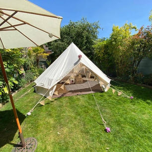 Open Front Bell Tent In A Garden.jpg