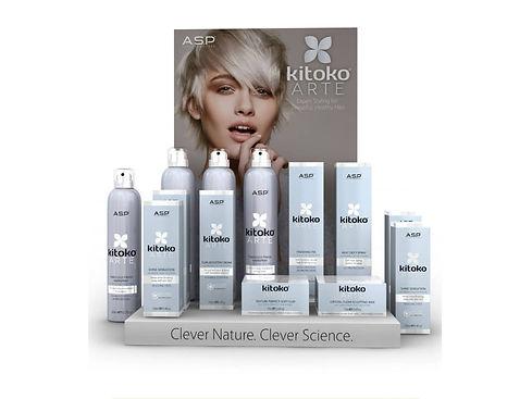 Range of Silver Kitoko Arte Products In Front Of Kitoko Arte Poster
