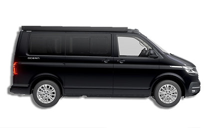 Black 2019 VW California Ocean 6.1 Campervan