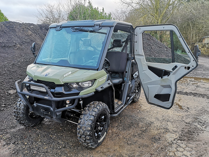 Used Can-Am Traxter HD8 Buggy UTV - Low Hours