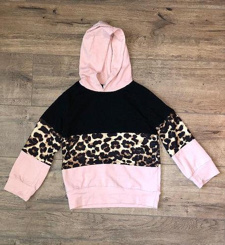 Blush Leopard Hoodie