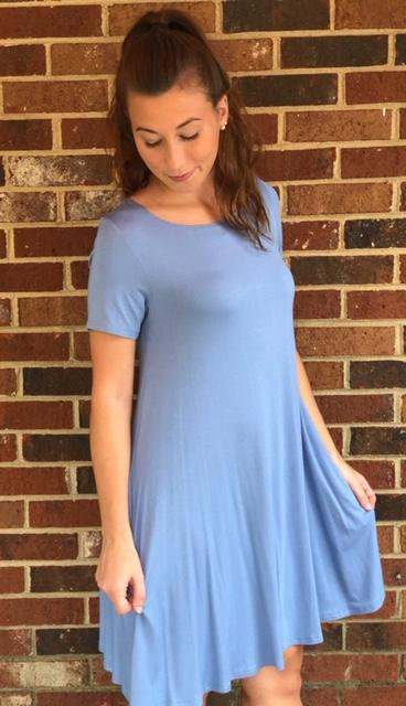 Indigo Pocket Dress