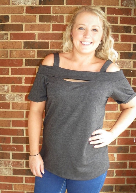Cutout Front Top