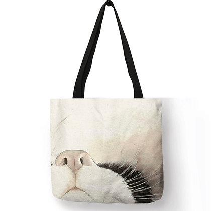 Cat Nose Tote Bag
