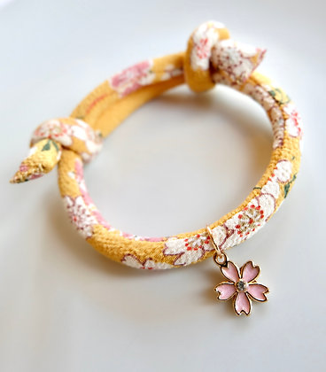 Hand Made Japanese Style Collar for Cat (8mm)