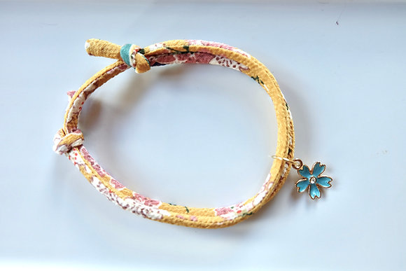 Hand Made Japanese Style Collar for Cat (4mm)