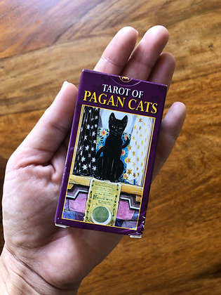 Pagan Cats Mini Tarot Card