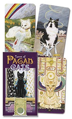 Tarot Of Pagan Cats Full Size Deck(Borderless Edition)