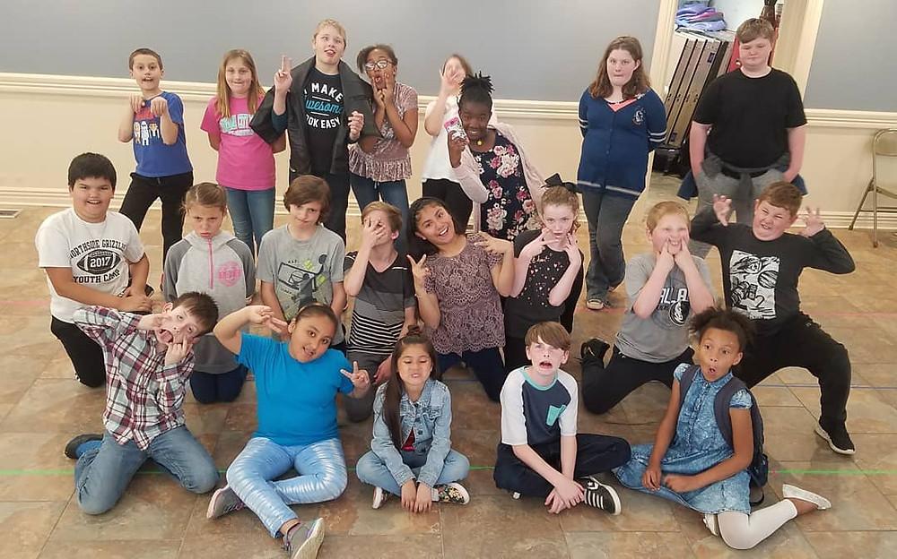 Ballman Drama Outreach Students