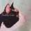 Thumbnail: Cherry Blossom Cats Cushion Cover