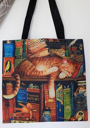 Orange Tabby Cat Tote Bag