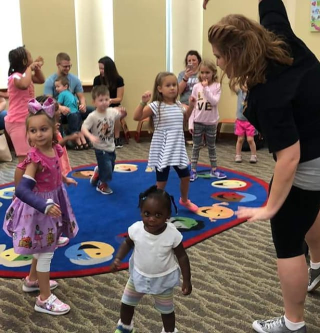 Creative Storytimes at the Library